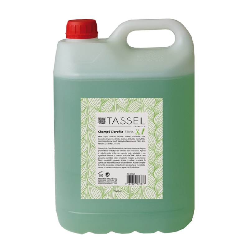 Шампунь Tassel с хлорофиллом