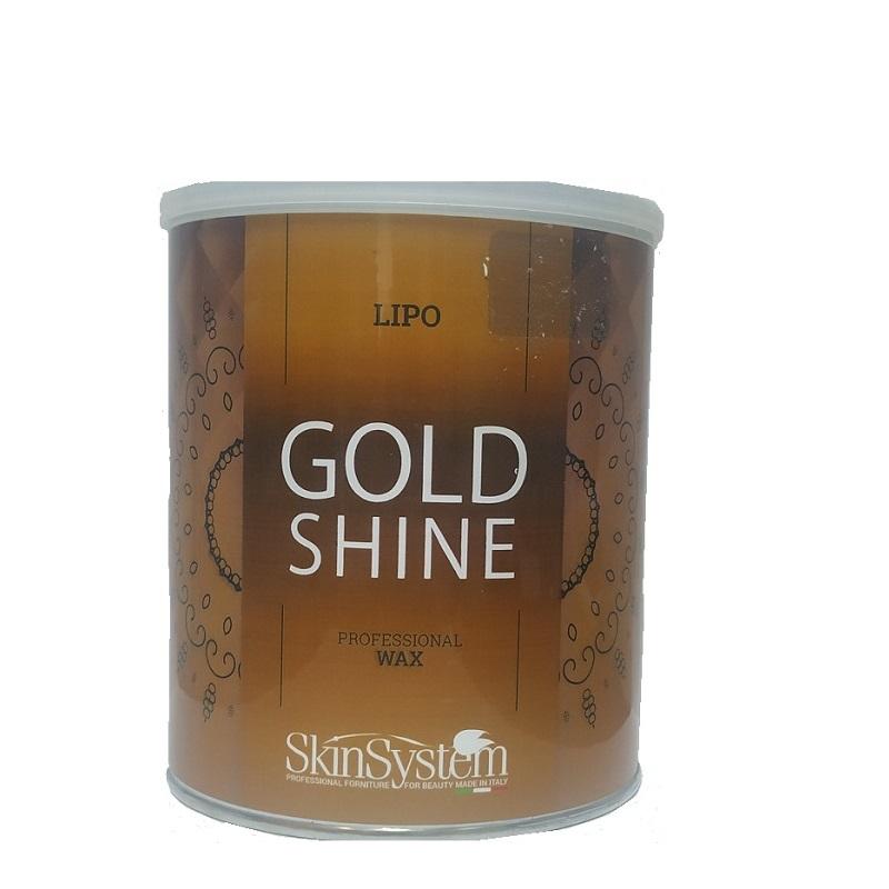 Ceară pentru depilare în borcan Gold Shine