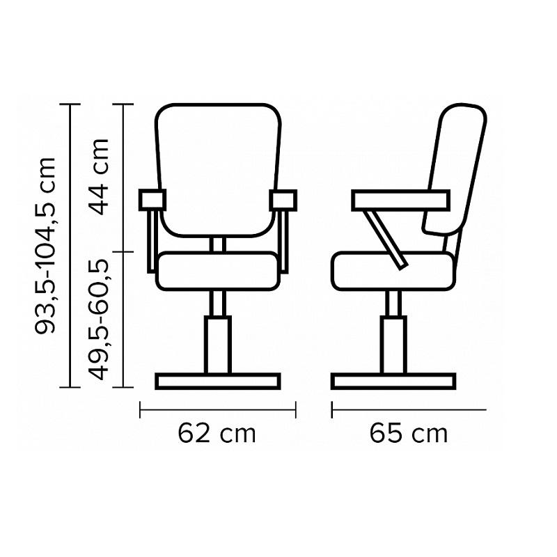 Кресло на гидравлике Aurora