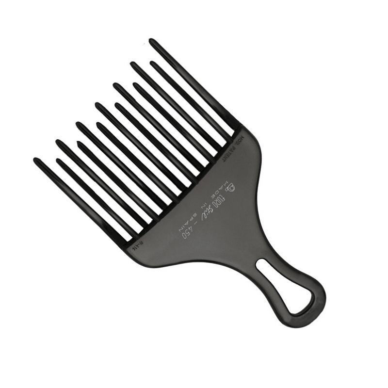 Расческа гребень с ручкой с 2-х рядными зубцами
