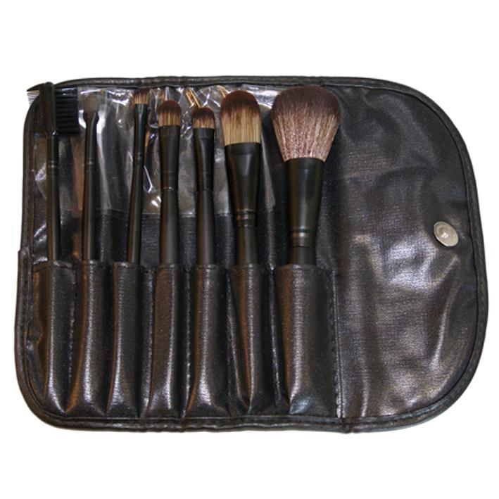 Кейс для макияжа набор (7 кистей)