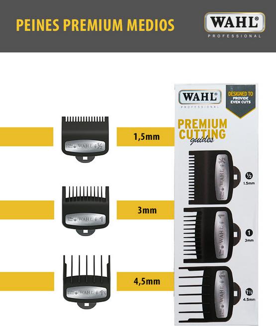 Set de înălţătoare-pieptene Premium (3 buc)