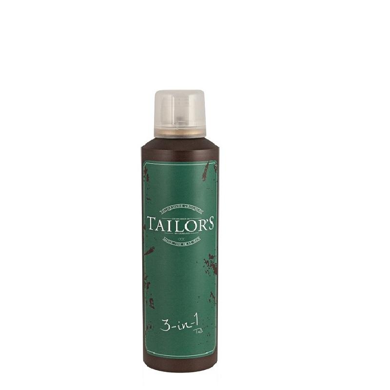 Tailor's 3 în 1 spumă de ras, gel de duș și șampon