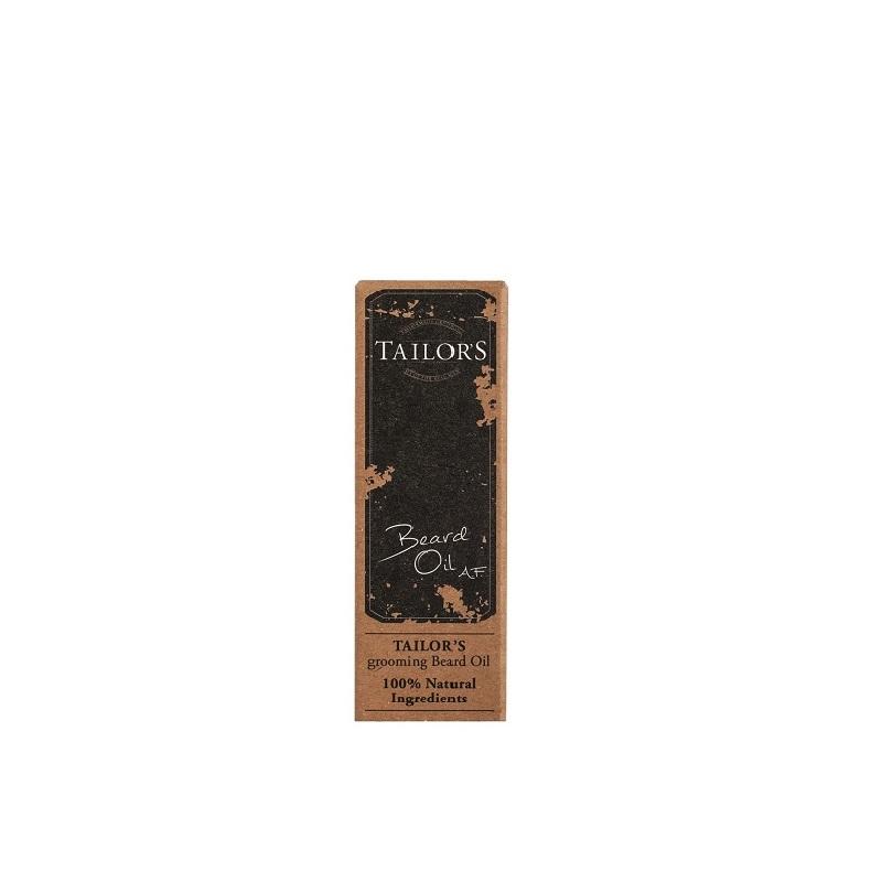 Масло Tailor's для бороды 100% натуральное антибактериальное