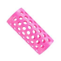 Бигуди пластмассовые розовые № 3