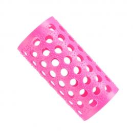 Бигуди пластмассовые розовые №4