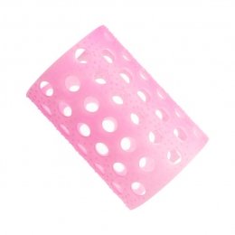 Бигуди пластмассовые розовые №6