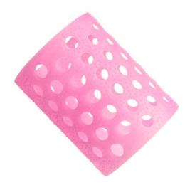 Бигуди пластмассовые розовые №7