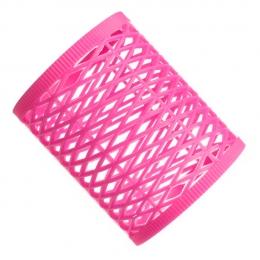 Бигуди пластмассовые розовые №8
