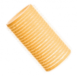 Бигуди на липучке D 32 мм ярко-желтые