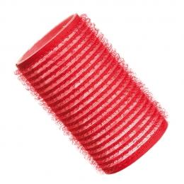 Бигуди на липучке D 36 мм красные