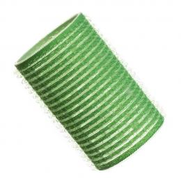 Бигуди на липучке D 40 мм зеленые