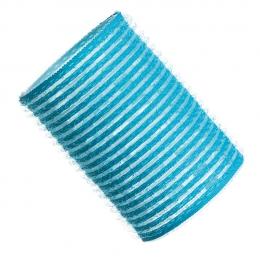 Бигуди на липучке D 44 мм голубые
