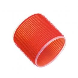 Bigudiuri cu lipici D 60 mm roșii