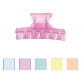 Clamă pentru păr din plastic mică colorată