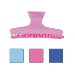 Clamă pentru păr din plastic color 7 cm