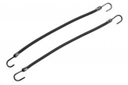 Elastic negru cu un cârlig pentru coafură