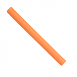 Папильотки короткие оранж (17,5*1.6 см)
