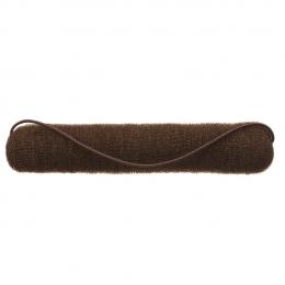 Валик для причесок коричневый