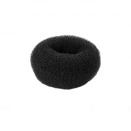 Валик для причесок черный круглый 35 мм