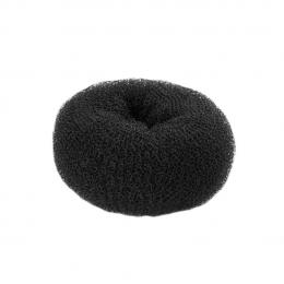 Валик для причесок черный круглый 45 мм