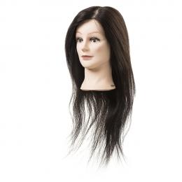 Голова-манекен натуральные волосы 55-60 см