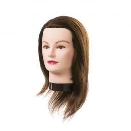 Голова-манекен натуральные волосы 20-30 см