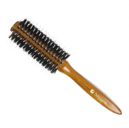 Brushing cu peri naturale și ace de nylon 51 mm