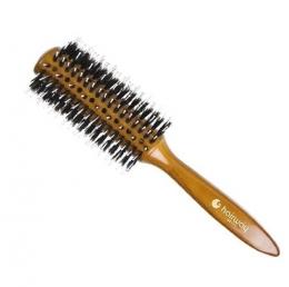 Brushing cu peri naturale și ace de nylon 66 mm