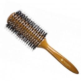Brushing cu peri naturale și ace de nylon 74 mm