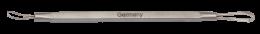 Lingurița cosmetologică buclă dublă