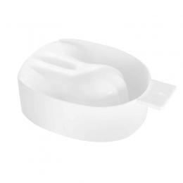Cadă albă pentru manichiură