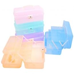 Conteiner din plastic pentru manichiură verde