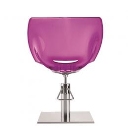 Кресло парикмахерское Ginevra Transparent