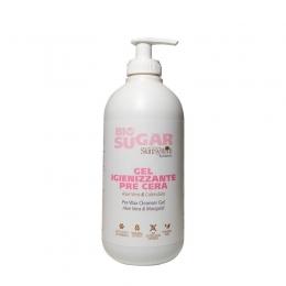 Gel dezinfectant înainte de depilare