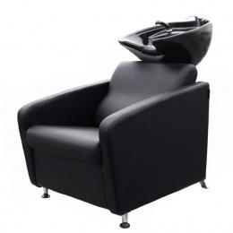 Мойка парикмахерская Domino с черной раковиной