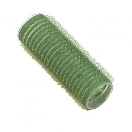 Bigudiuri cu lipici D 21 mm verde